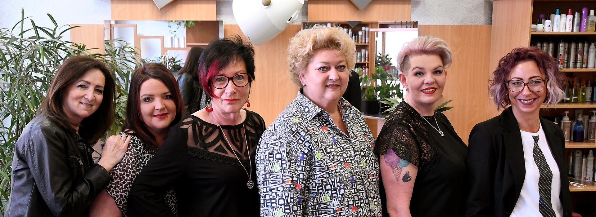 Das Team des Salons Ammon in Gersthofen